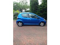Toyota aygo vvt 998 cc. Low milleage cheap insurance, ideal first car