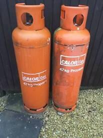47kg Propane Gas Bottles