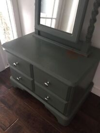 Up cycled mirror unit