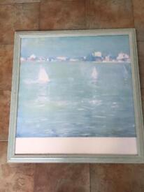 LARGE PICTURE SIGNED L REES 78