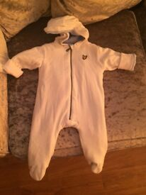Lyle and Scott pram suit