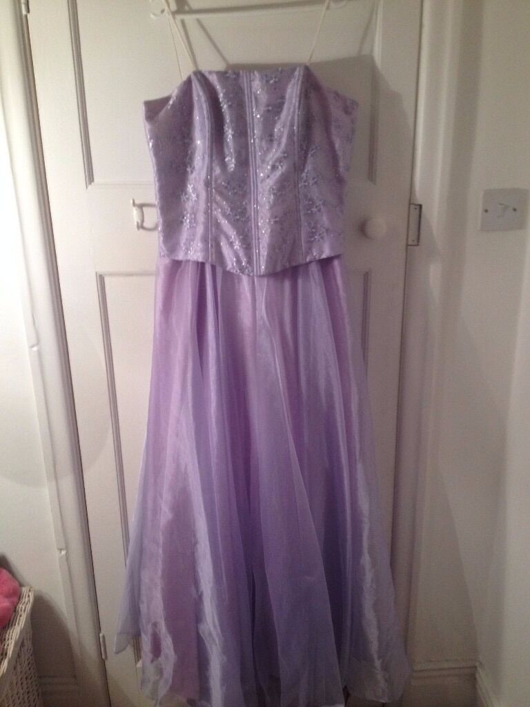 Victory Collection Lilac Prom Dress / Bridesmaid Dress Size 14 For ...
