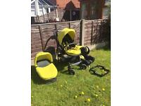 Graco Evo Travel System - Lime Green