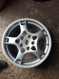Porsche Boxster ,Carrera front wheel 19x8J et57 P.N.99736215600