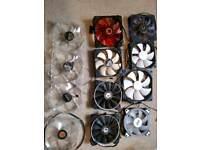 PC fans big pack x12