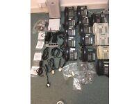 Complete Nortel BCM50 Small Office phone System & 15 Handsets Black& Ivor