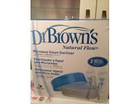 Dr Brown's microwave bottle steriliser