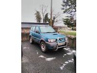 2002 Nissan Terrano 2.7 SWB for breaking or repair