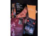 Job lot of science books, 38