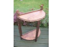 LOVELY SELF SUPPORTING VICTORIAN CONSOLE TABLE