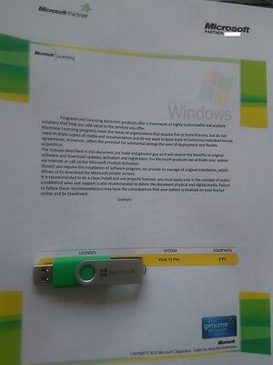 Microsoft Visio 2013 Professional 2 Pc License 100  Genuine