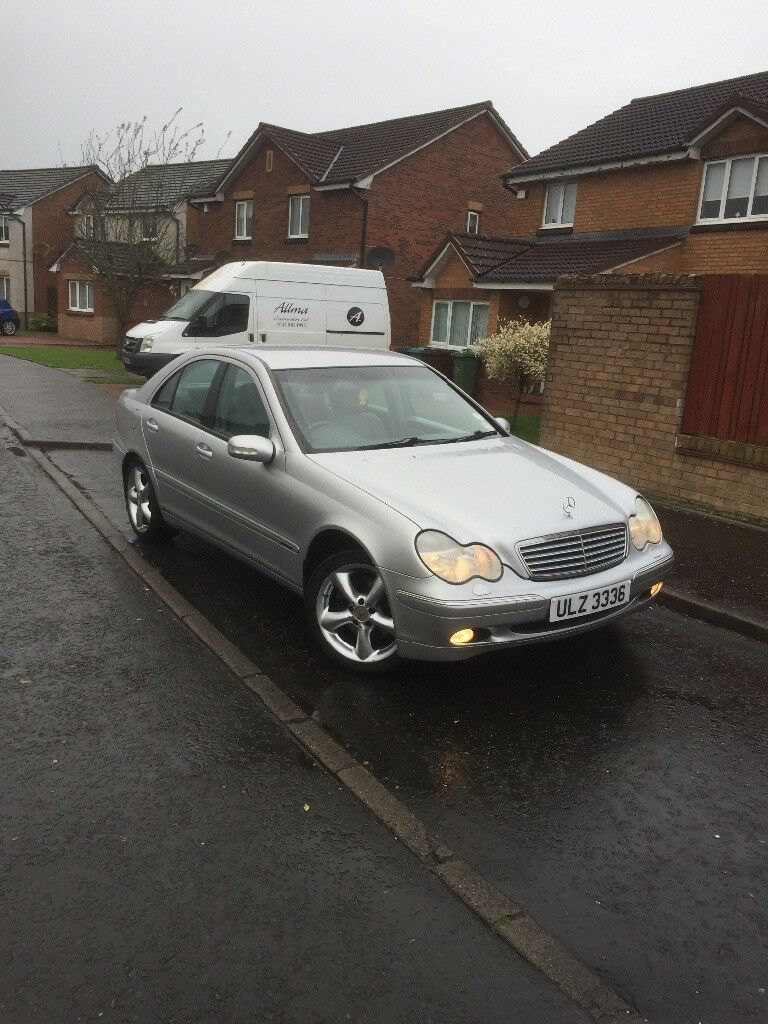 Mercedes c240, mot may 2018