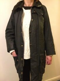 "Barbour ""Beaufort"" wax jacket"