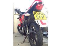 2012 Honda CBF 125 (12 months MOT)
