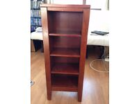 Wooden cd stand shelving unit