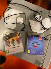 Ps3 Disney infinity 2.0 & 3.0 bundle
