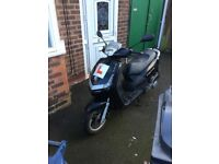 MOTOR SCOOTER VIVACITY 125 BLACK 2011