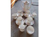 Vintage Paragon Belinda bone china coffee set