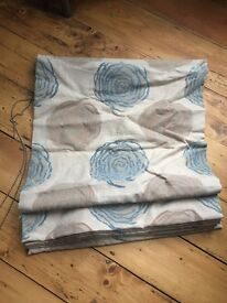 High Quality bespoke Roman blind (two available)