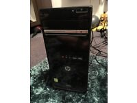 Fully working HP desktop PC for sale with screen £100