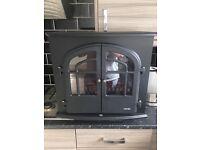 Brand new Warmlite Log Effect Stove Fire, 2000 W - Black