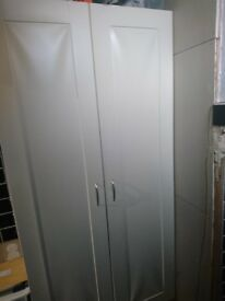 large cupboard only fit for a shed as the front is lifting off can be painted