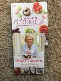 Baking/dessert books