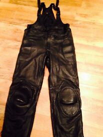 New motorcycle leathers