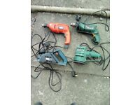 selection of power tools