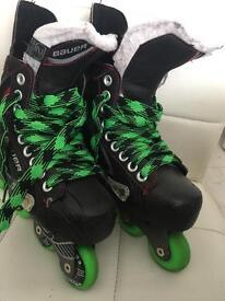 Bauer in line skates