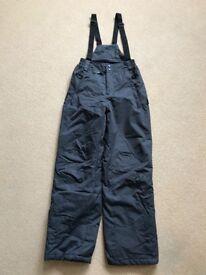 Men's XS Mountain Warehouse Ski Salopettes/Pants/Trousers,