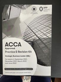 ACCA Strategic Business Leader(SBL) practice and Revision kit
