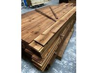 Featheredge Boards Tanatone Pressure Treated Fencing 6ft (1.8m) 2ex 22x125x1.8