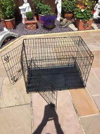 Medium Black Pet Cage