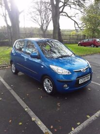 2009 HYUNDAI I10 1.2 STYLE £30 ROAD TAX ONLY 40K...............£3200
