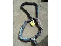 Two Oxford Monster Chains Plus padlock and Oxford Big Boss Alarm