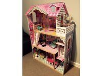 Kidcraft Annabelle Dolls House - excellent condition