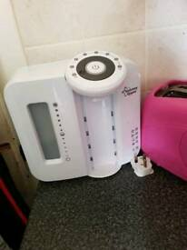 Tommee tippy bottle warmer and perfect prep machine