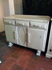 Shabby chic cupboard sideboard refurbished