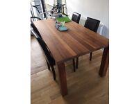 IKEA Djursta Solid Oak Dining Table
