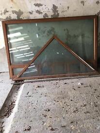 Large double glazing inits