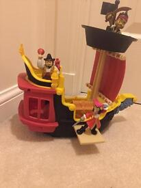 Fisher price Jolly Roger ship