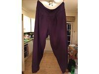 Gudrun Sjoden purple harem pants