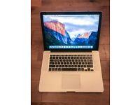 "Macbook Pro 15"", 2.66 GHz, 4GB RAM, 500GB HD"
