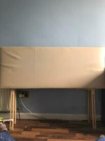 Double divan bed headboard FREE