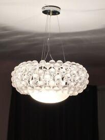Large Modern Ceiling Light - W 50cm x H 25cm