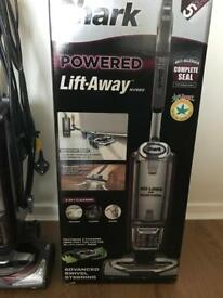 Used Once Shark pet lift away vacuum