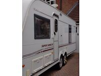 Elddis crusader super sirocco twin axle 2003