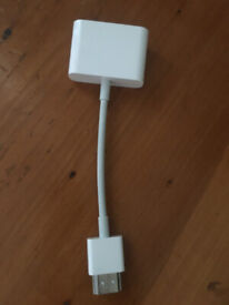 Genuine Apple HDMI to DVI Adapter - Never used!