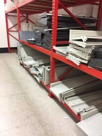PALLET RACKING WITH DECKING FANTASTIC CONDITION